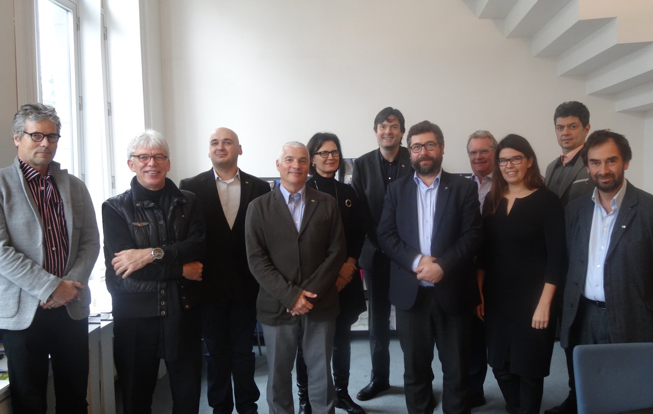 Architects 39 council of europe elected new executive for Architects council of europe